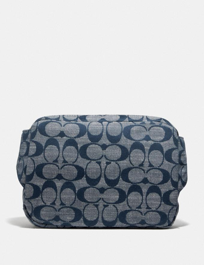 Coach Cargo Belt Bag in Signature Chambray B4/Chambray Women Bags Mini Bags Alternate View 2