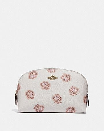 5ce9b469f4d5 COSMETIC CASE 17 WITH ROSE PRINT