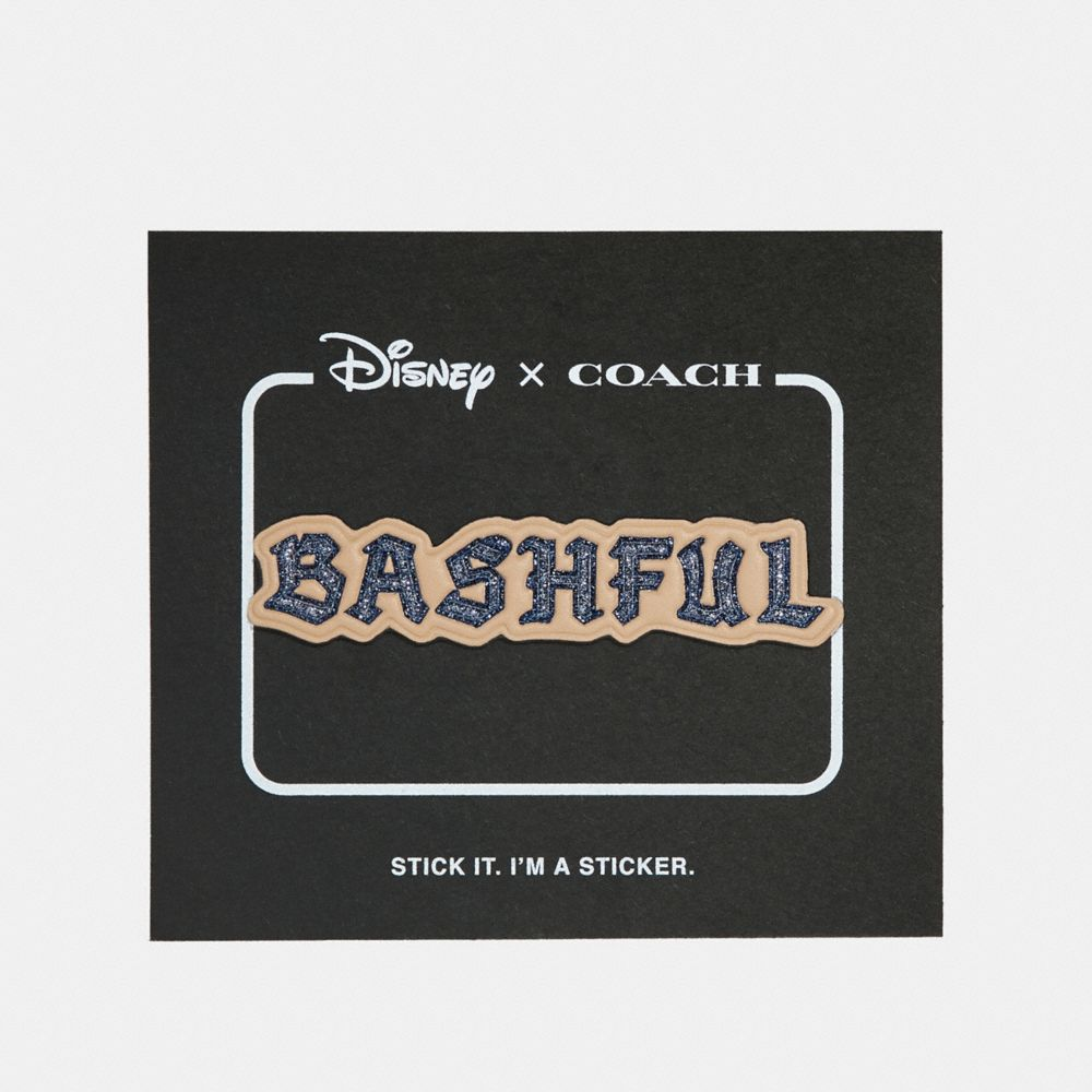 Coach Disney X Coach Bashful Sticker