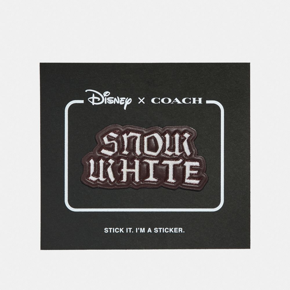disney x coach snow white sticker