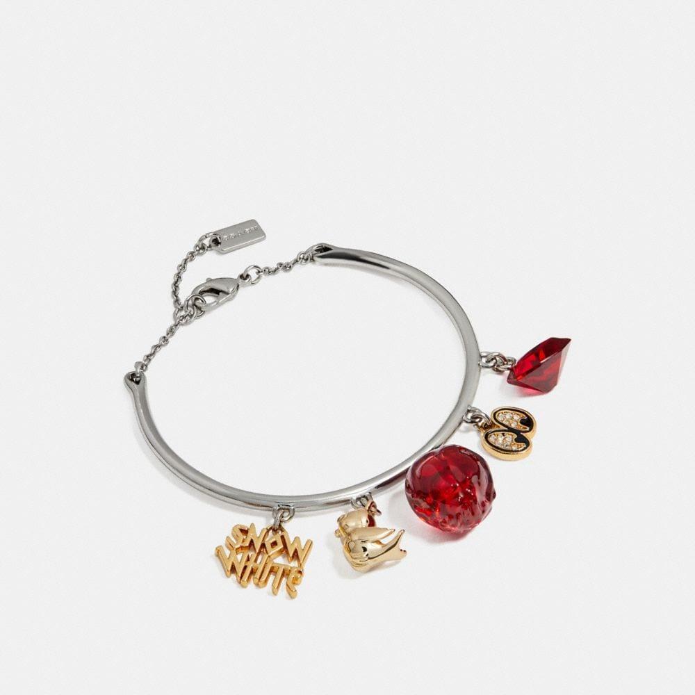 Coach Disney X Coach Snow White Bangle Charm Bracelet