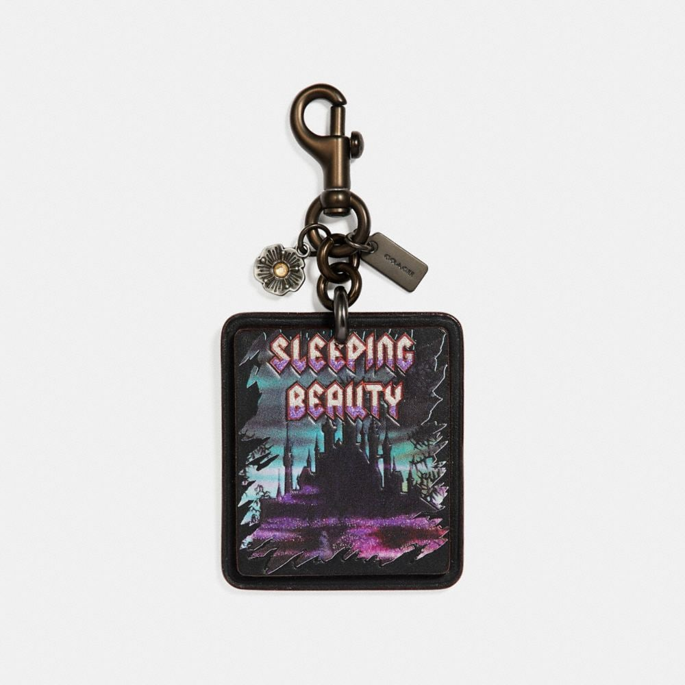 DISNEY X COACH SLEEPING BEAUTY BAG CHARM