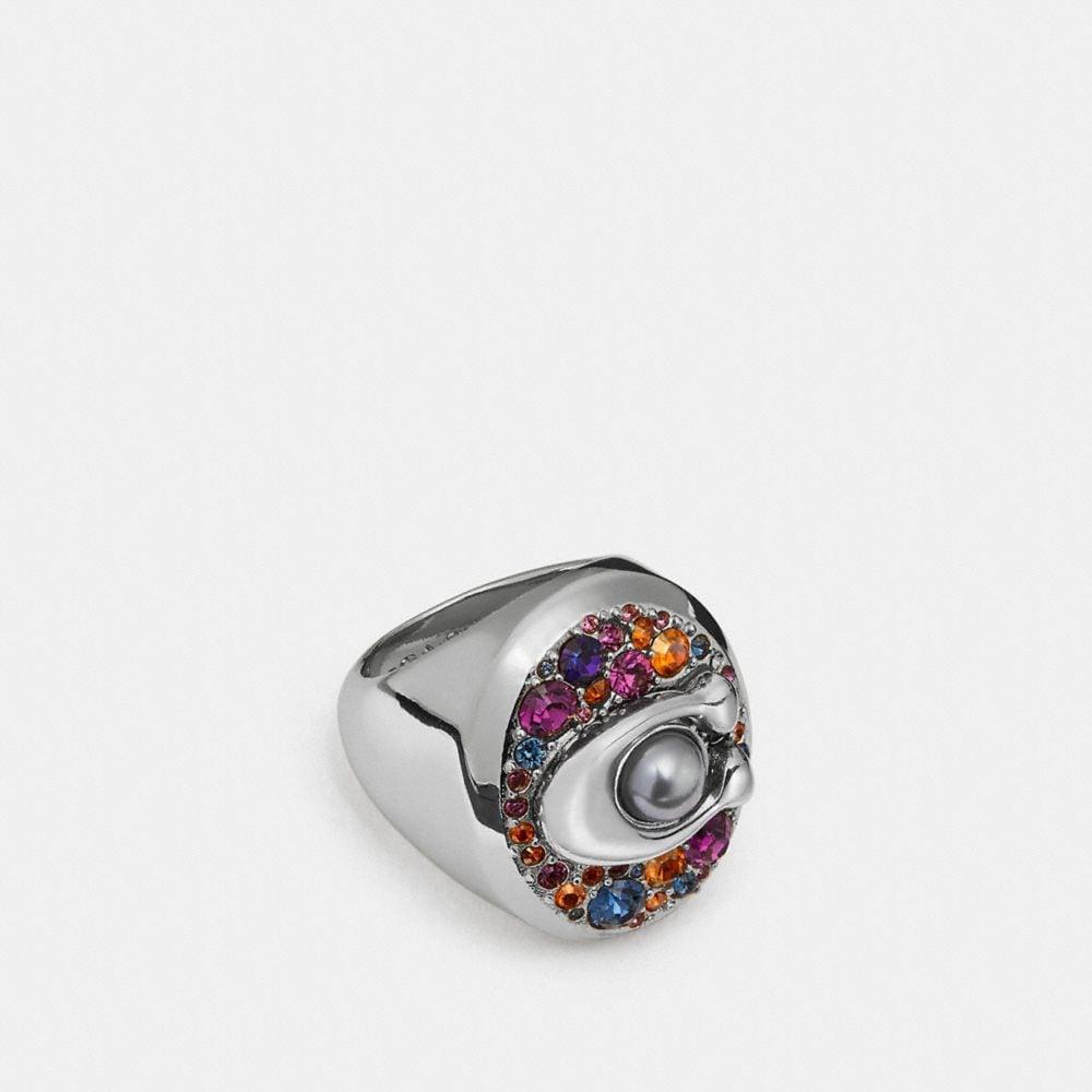 multicolor signature ring