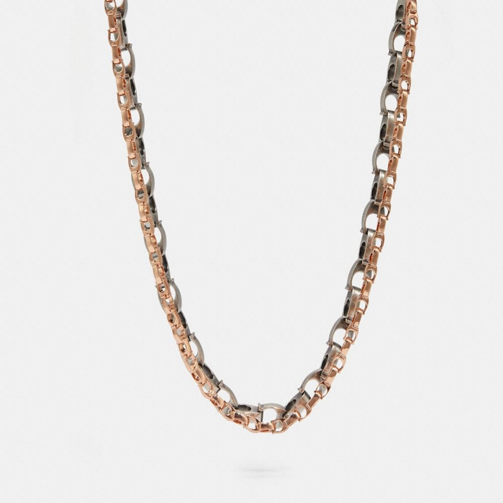 SIGNATURE CHAIN LAYERED NECKLACE