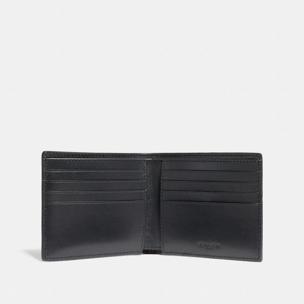 Coach Disney X Coach Double Billfold Wallet With Skull Alternate View 1