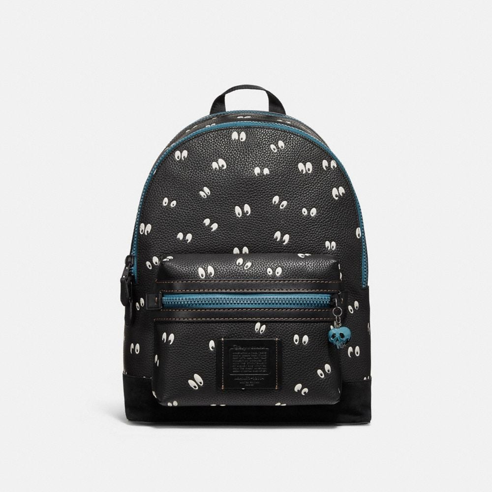Coach Disney X Coach Academy Backpack With Spooky Eyes Print