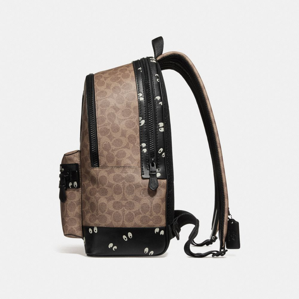 Coach Disney X Coach Academy Backpack in Signature Patchwork Alternate View 1