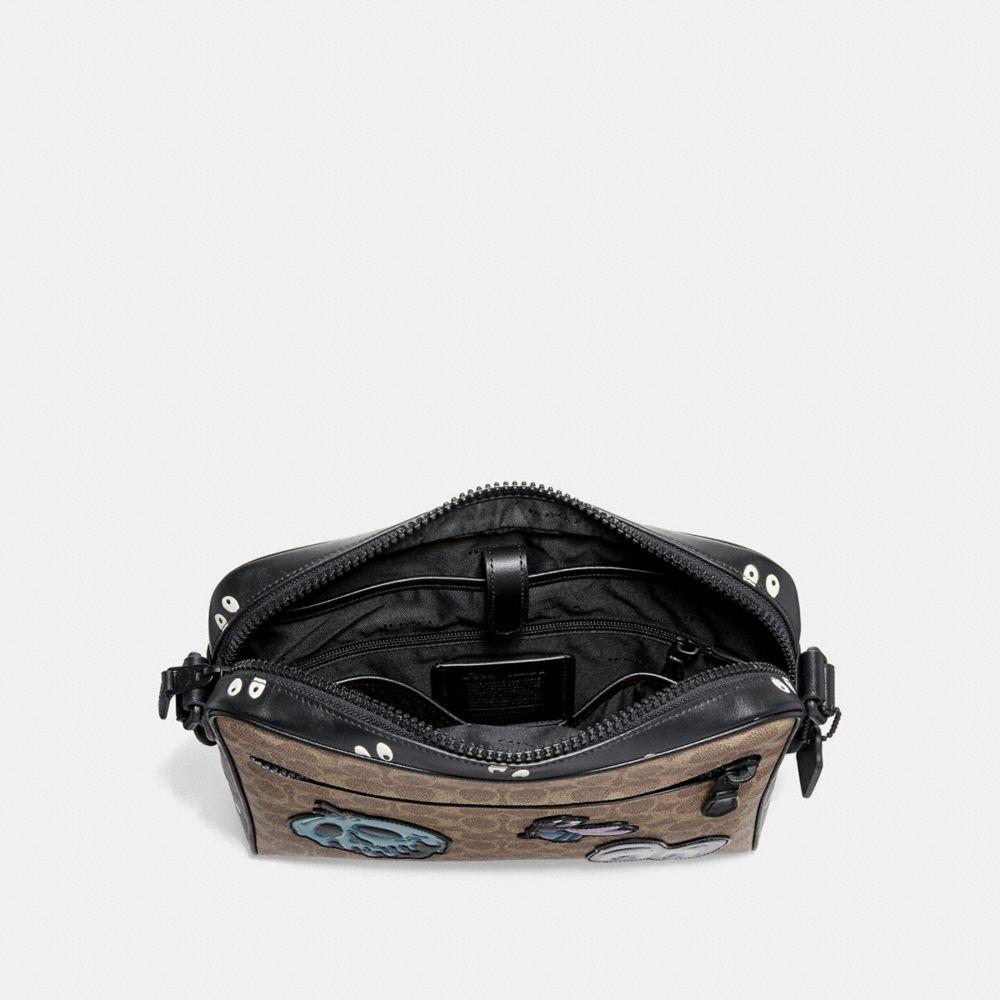 Coach Disney X Coach Metropolitan Camera Bag in Signature Patchwork Alternate View 2