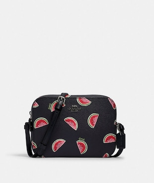MINI CAMERA BAG WITH WATERMELON PRINT