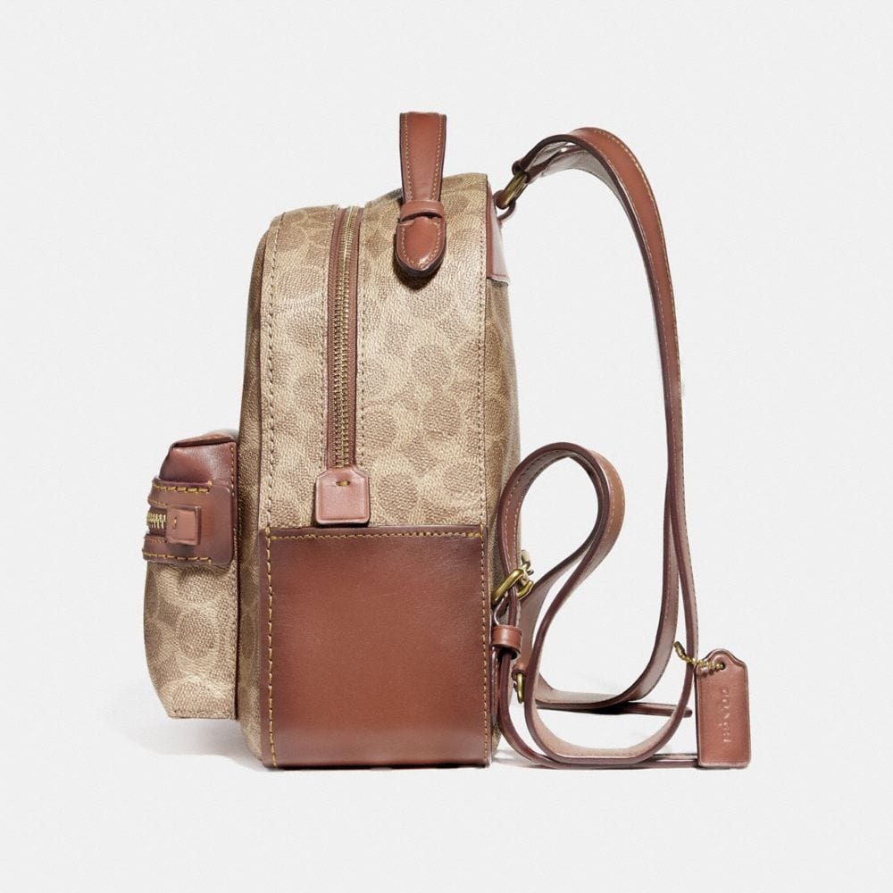 Coach Campus Backpack 23 in Signature Canvas Alternate View 1