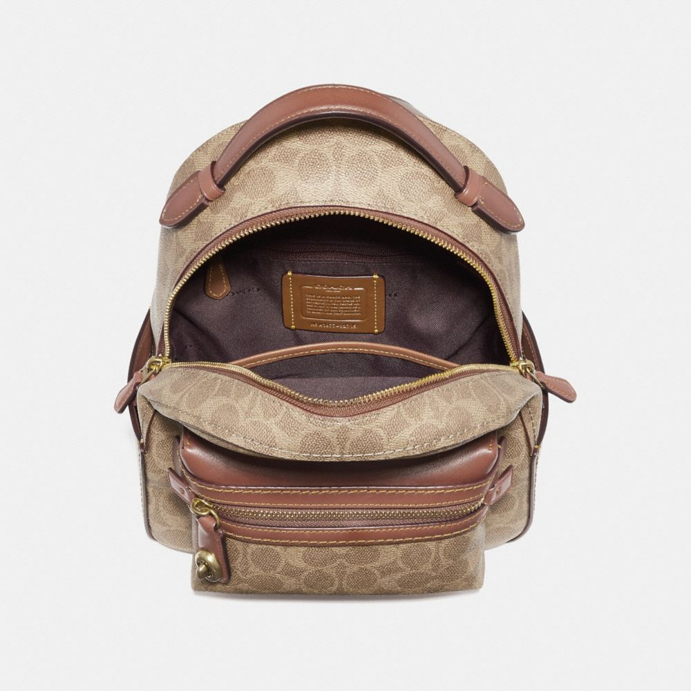 Coach Campus Backpack 23 in Signature Canvas Alternate View 2