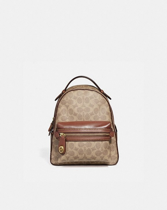 COACH  Campus Backpack 23 in Signature Canvas 63030df93b5b6