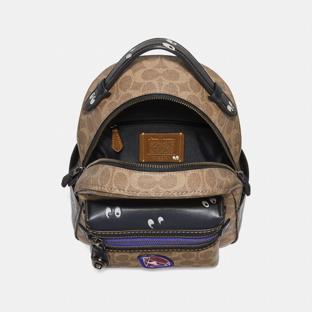Coach Disney X Coach Campus Backpack 23 in Signature Patchwork Alternate View 2