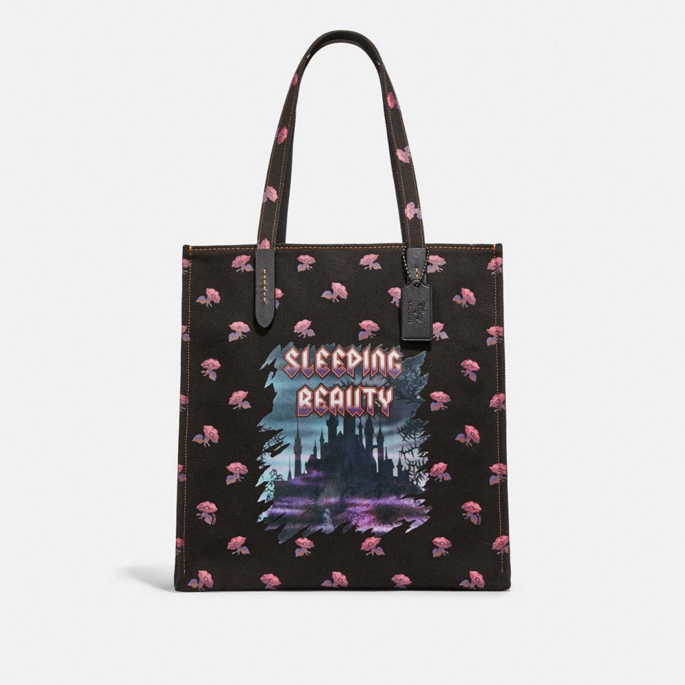 DISNEY X COACH SLEEPING BEAUTY TOTE