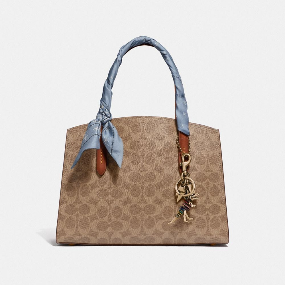 Coach Charlie Carryall 28 in Signature Canvas Alternate View 3