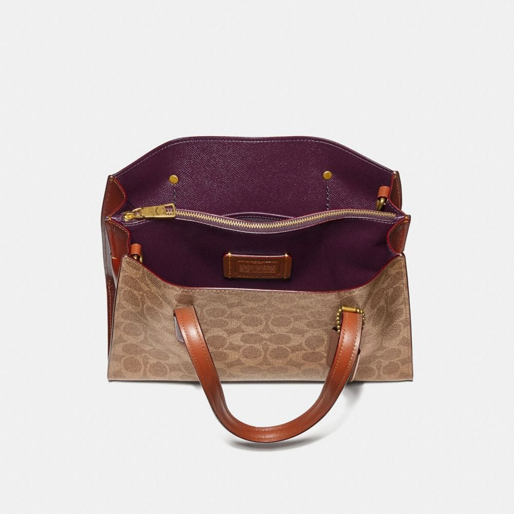 Coach Charlie Carryall 28 in Signature Canvas Alternate View 2