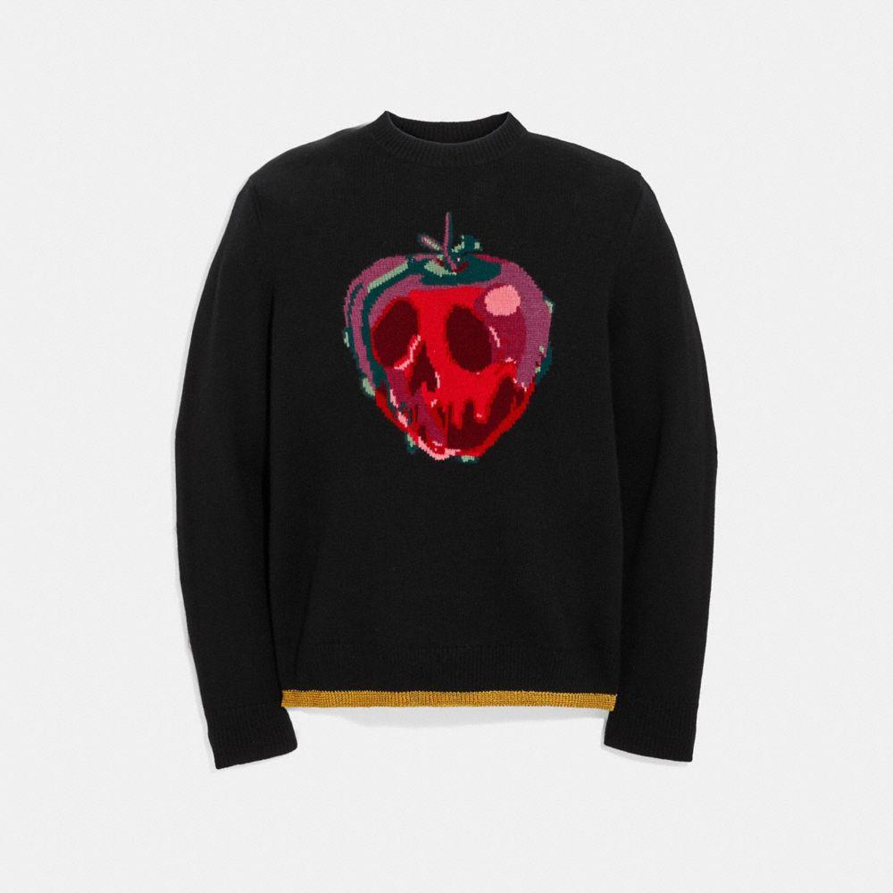 Coach Disney X Coach Poison Apple Intarsia Sweater