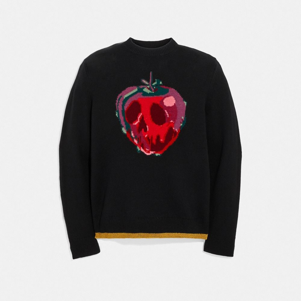 Coach Disney X Coach Poison Apple Intarsia Sweater Alternate View 1