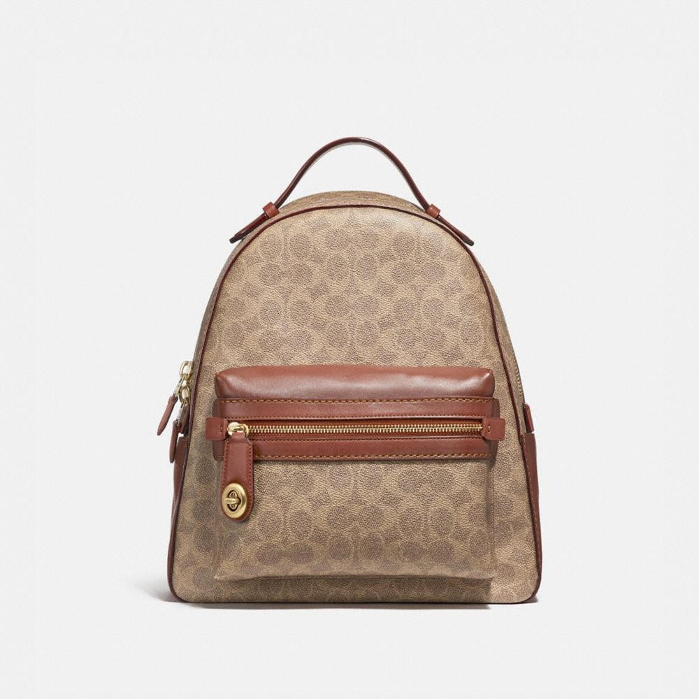 Campus Backpack in Signature Canvas | COACH