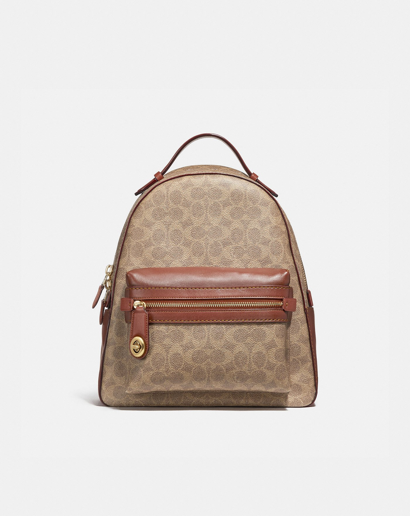 55289f7d53c9 COACH  Campus Backpack in Signature Canvas