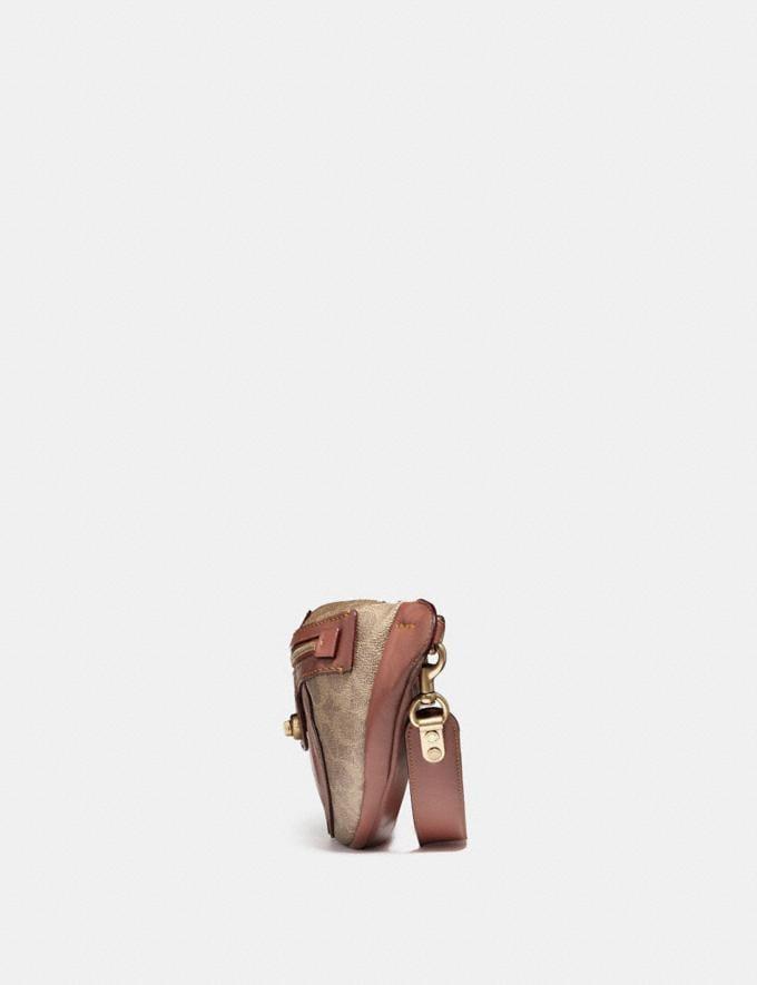 Coach Campus Pack in Signature Canvas Tan/Rust/Brass Women Bags Crossbody Bags Alternate View 1