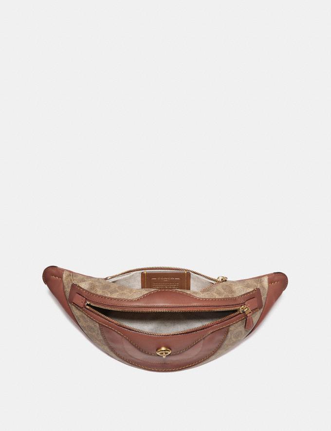 Coach Campus Pack in Signature Canvas Tan/Rust/Brass Women Bags Crossbody Bags Alternate View 2