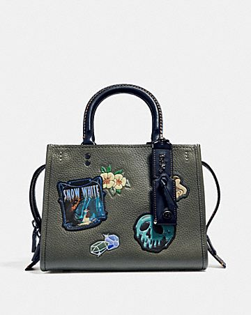 DISNEY X COACH ROGUE 25 WITH PATCHES