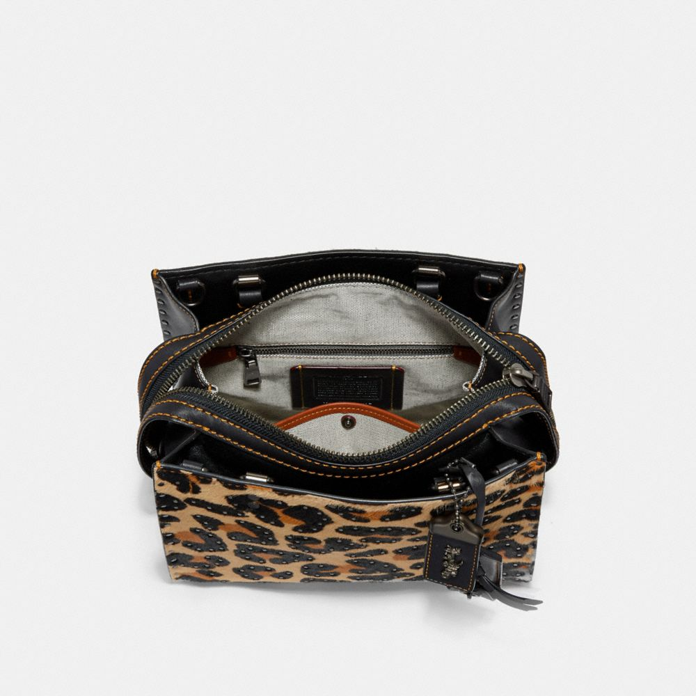 Coach Rogue 25 With Embellished Leopard Print Alternate View 2