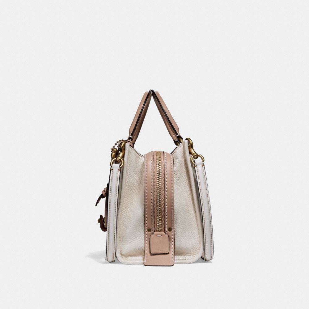 Coach Rogue 25 With Rose Applique Alternate View 1