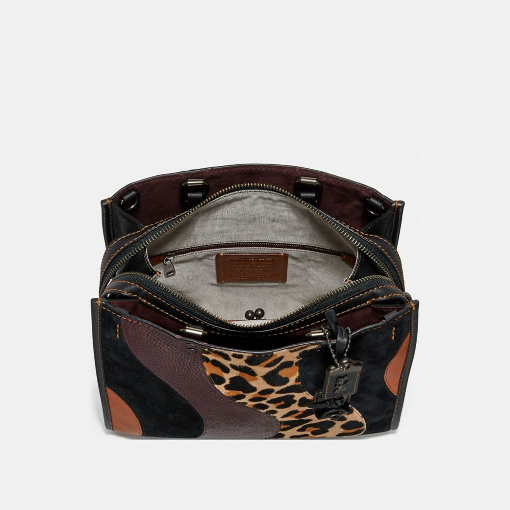 Coach Rogue With Leopard Patchwork Alternate View 2