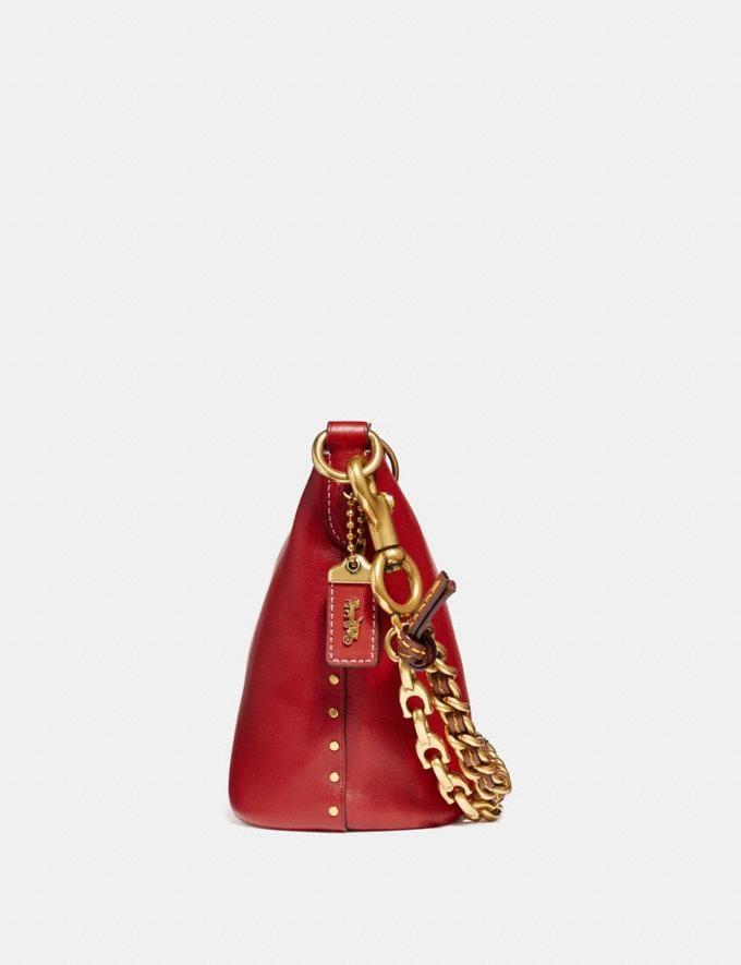 Coach Duffle 12 Ruby/Brass Women Bags Crossbody Bags Alternate View 1