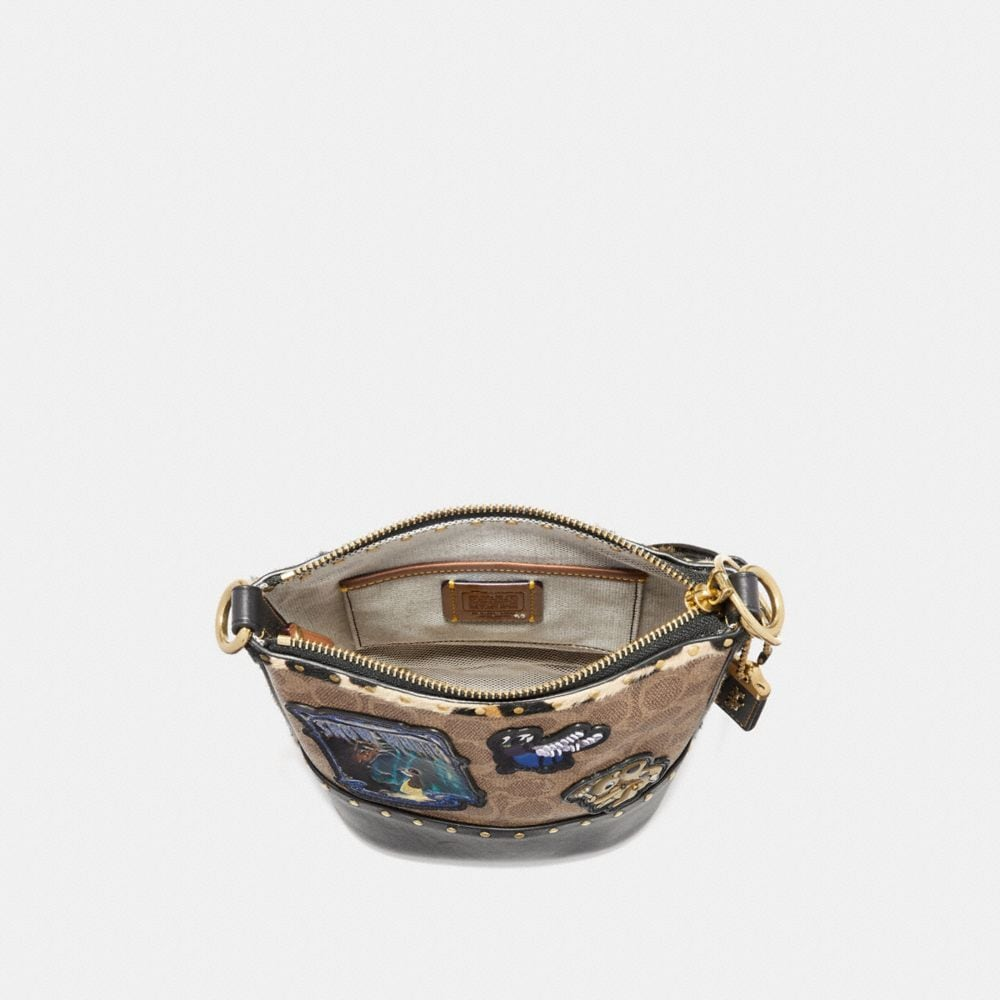 Coach Disney X Coach Duffle 12 in Signature Patchwork Alternate View 2
