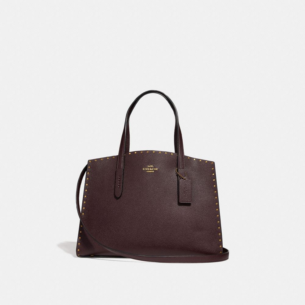 charlie carryall with rivets