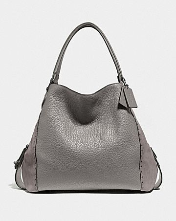 48891f72ffe EDIE SHOULDER BAG 42 WITH RIVETS ...