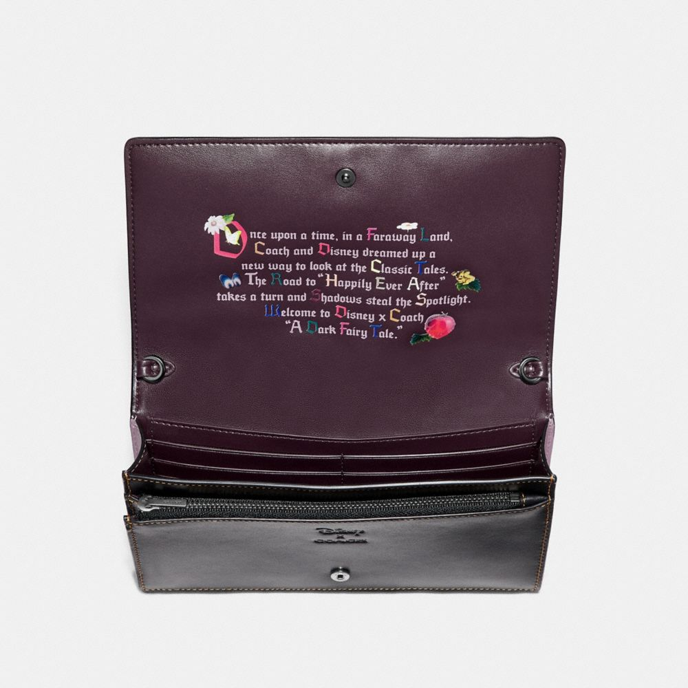 Coach Disney X Coach Dopey Foldover Crossbody Clutch Alternate View 2