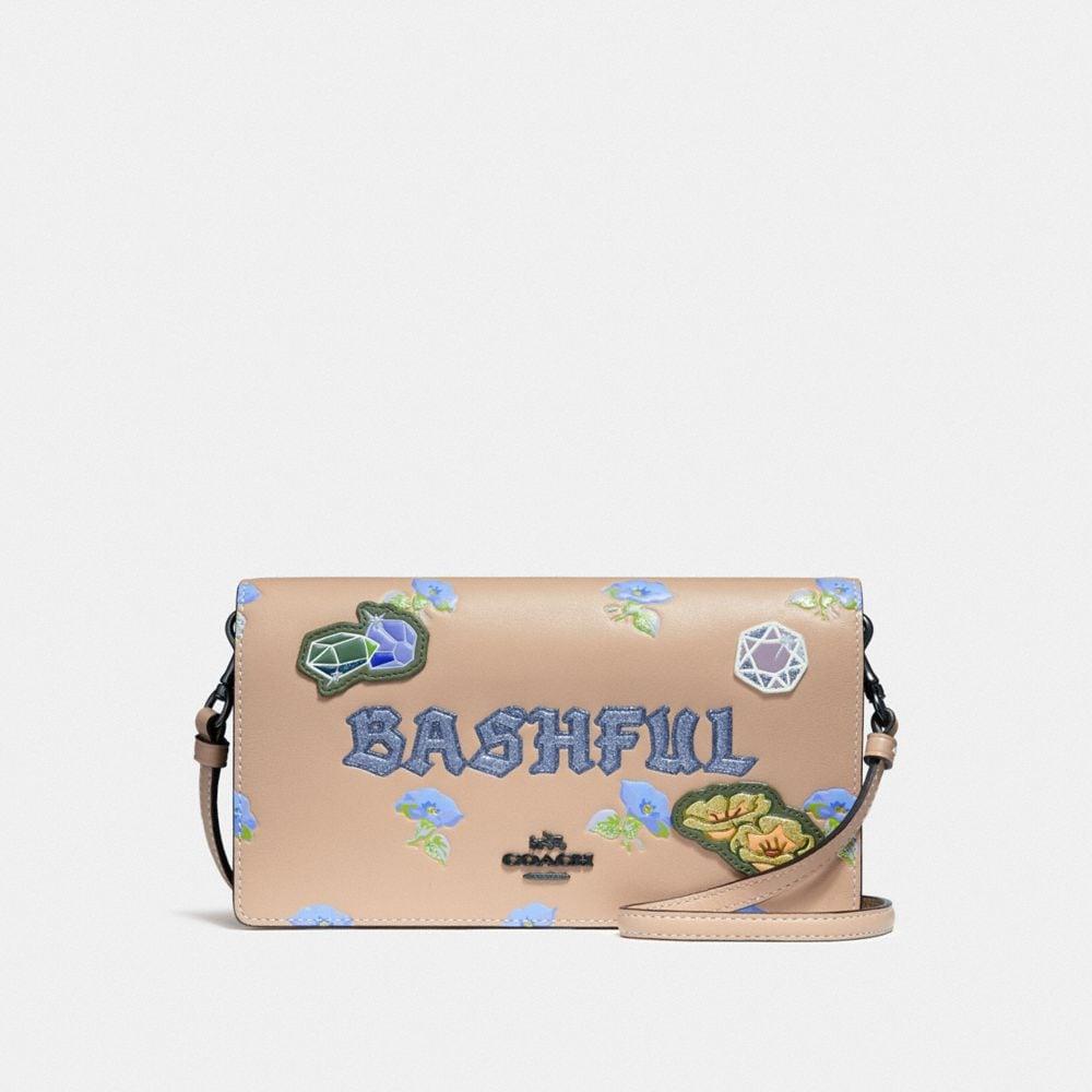 Coach Disney X Coach Bashful Foldover Crossbody Clutch