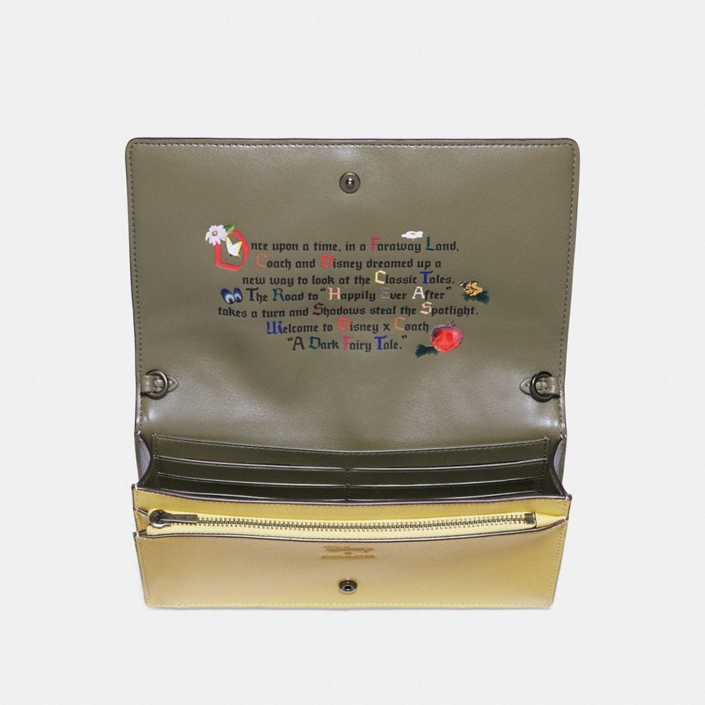 Coach Disney X Coach Sneezy Foldover Crossbody Clutch Alternate View 2