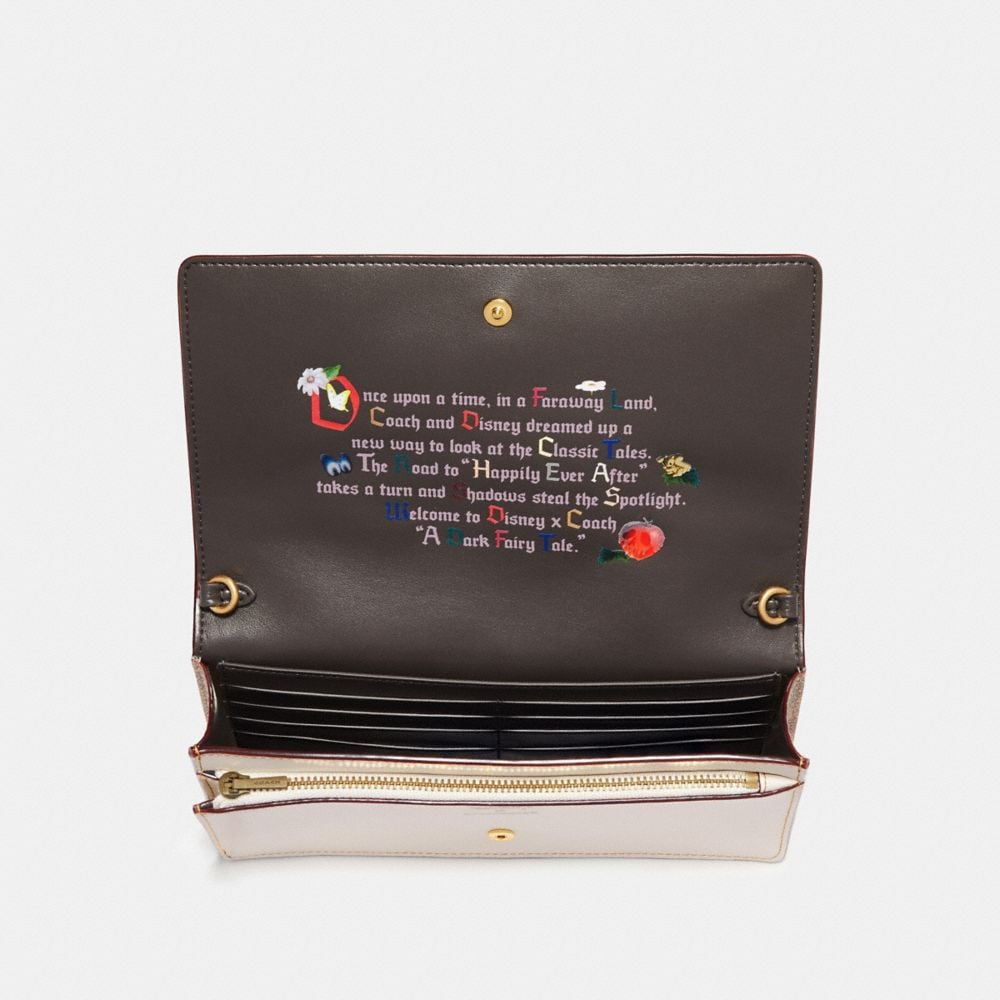 Coach Disney X Coach Happy Foldover Crossbody Clutch Alternate View 2