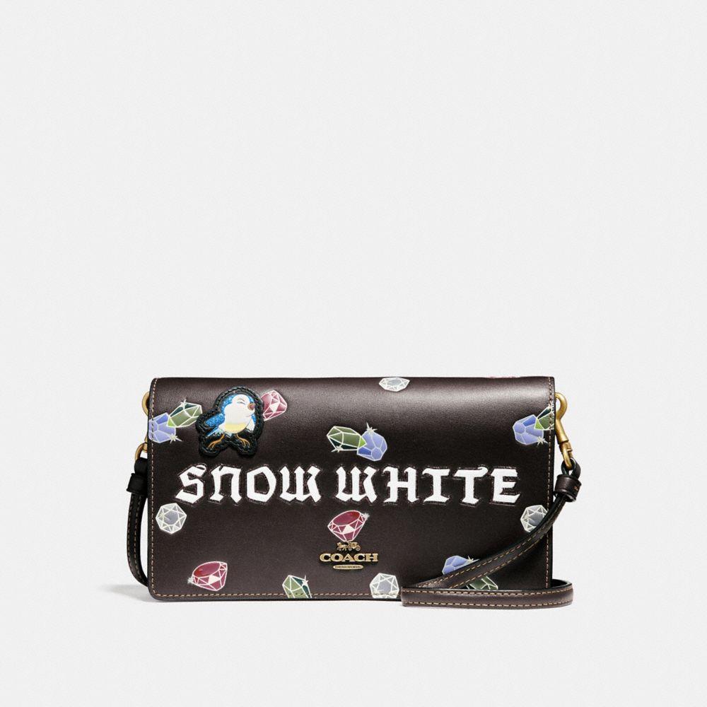 Coach Disney X Coach Snow White Foldover Crossbody Clutch