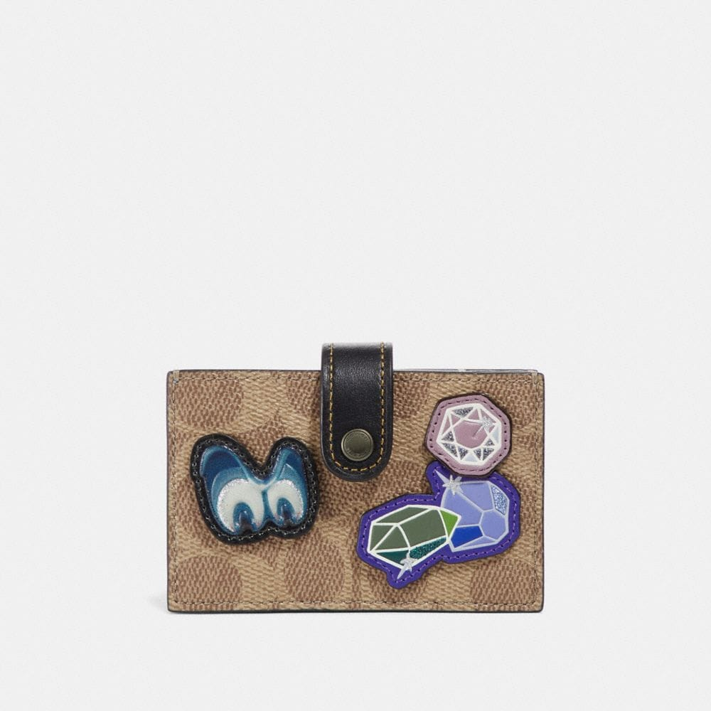 PORTE-CARTES ACCORDÉON DISNEY X COACH EN PATCHWORK EXCLUSIF