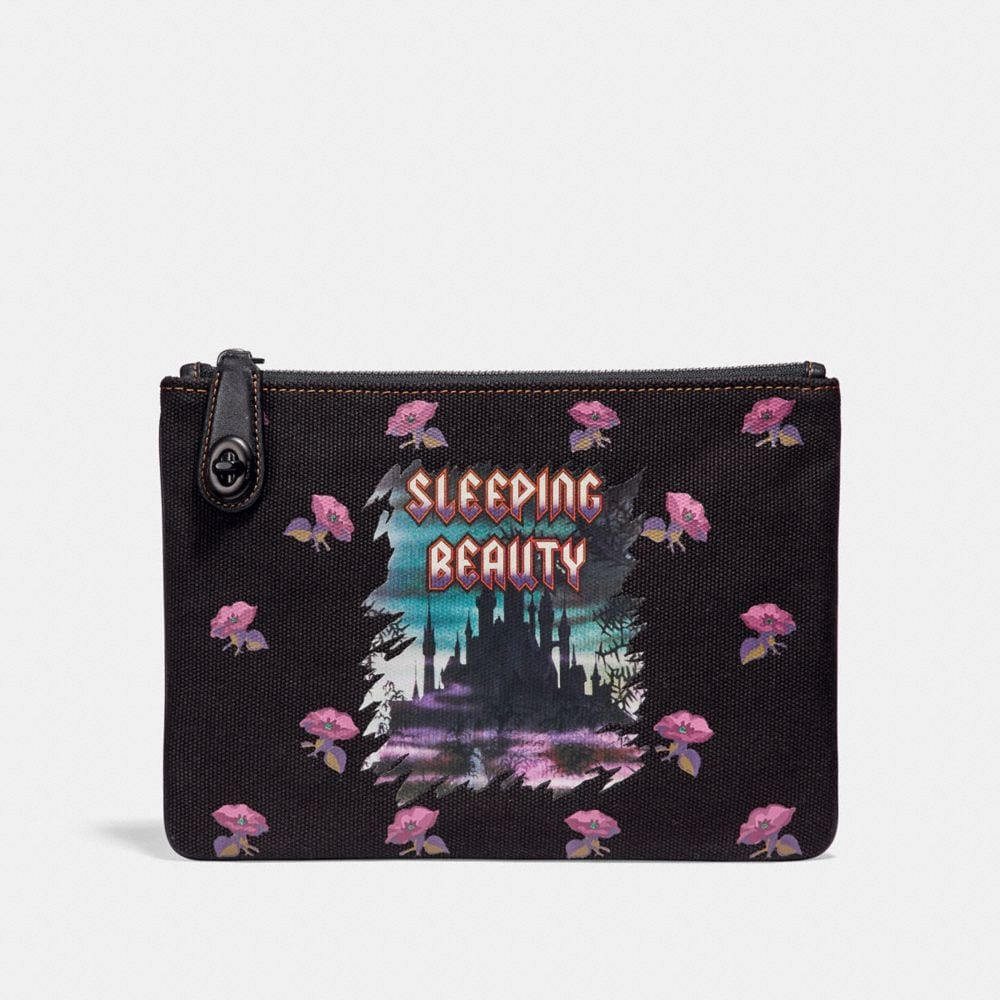 Coach Disney X Coach Sleeping Beauty Turnlock Pouch 26