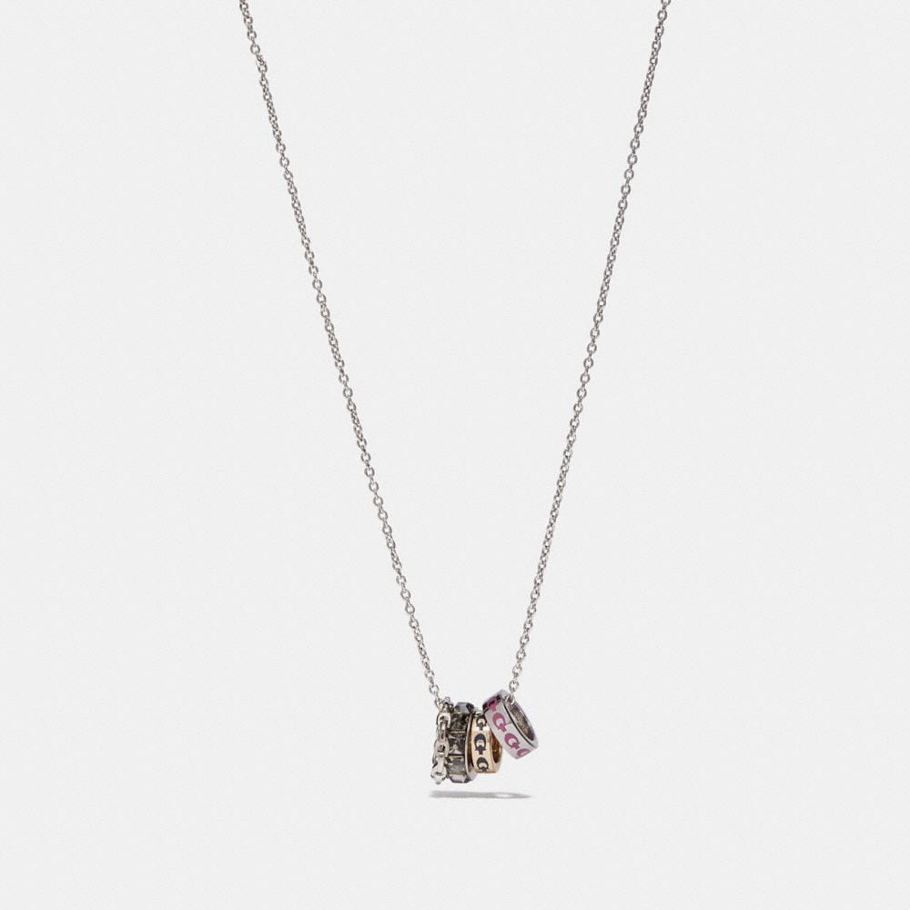 Coach Signature Rondell Necklace