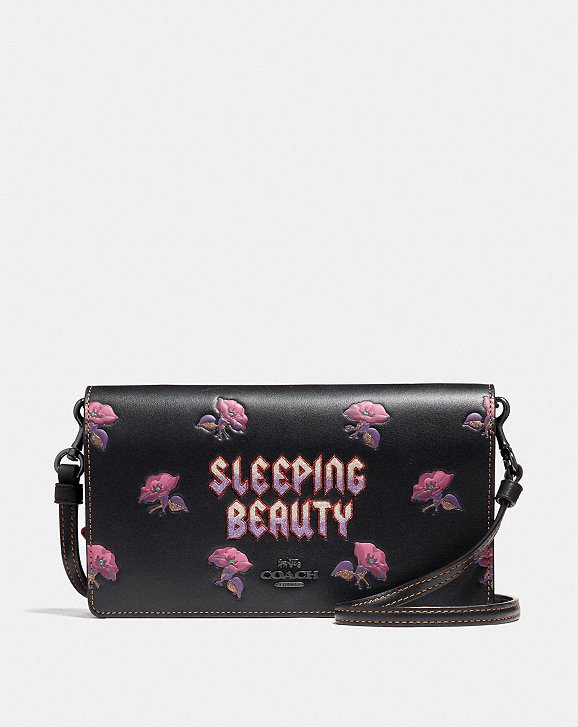 Coach Coach x Disney Sleeping Beauty foldover clutch Sale Shop Offer Classic Cheap Price Online Shop Z6fYBZt8