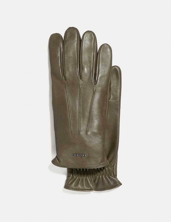 Coach Tech Napa Gloves Moss Men Edits Cold Weather Edit