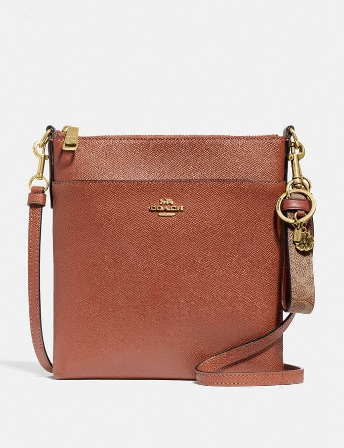 Coach Signature Charm Loop Saddle/Gold SALE Shop by Price 20% Off Alternate View 2