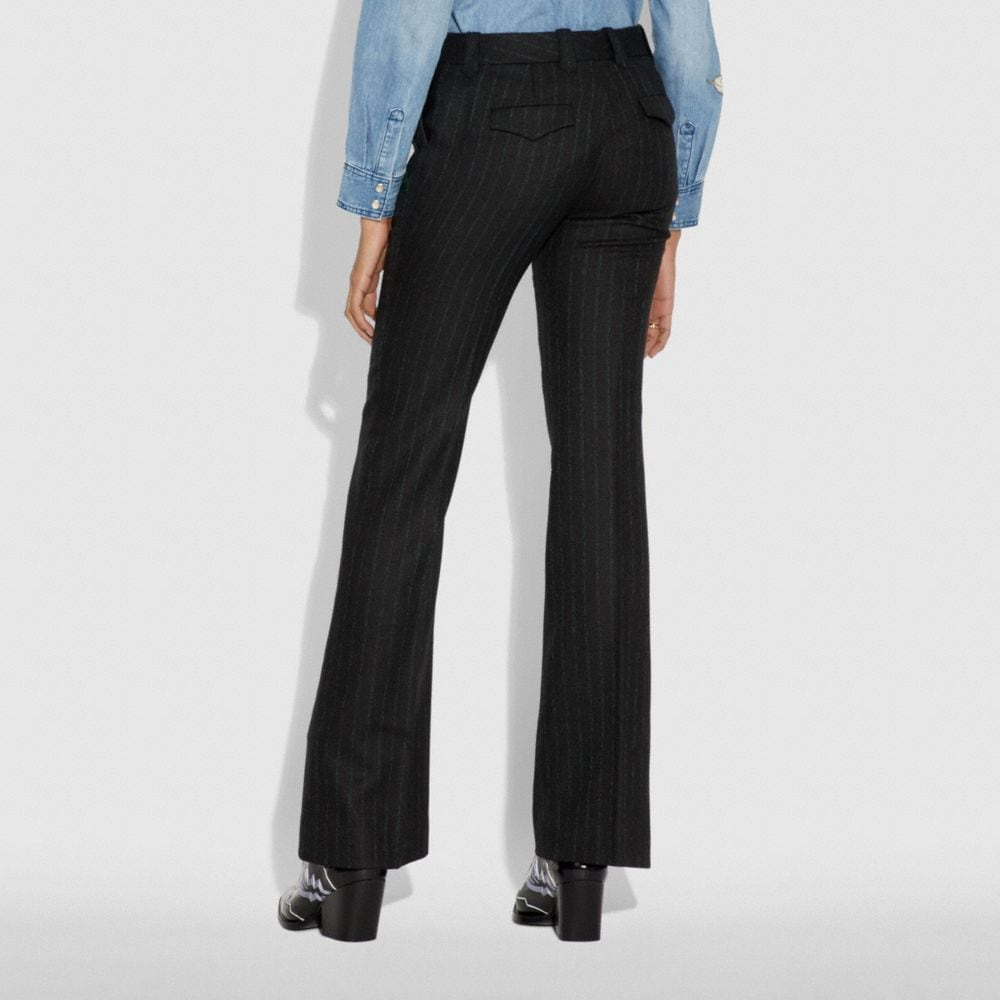Coach Embellished Tailored Trousers Alternate View 2
