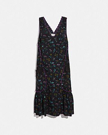WILDFLOWER PRINT BOW DRESS