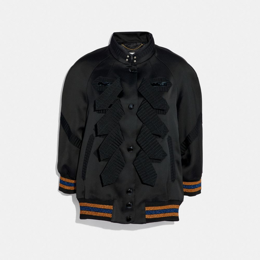 military varsity jacket