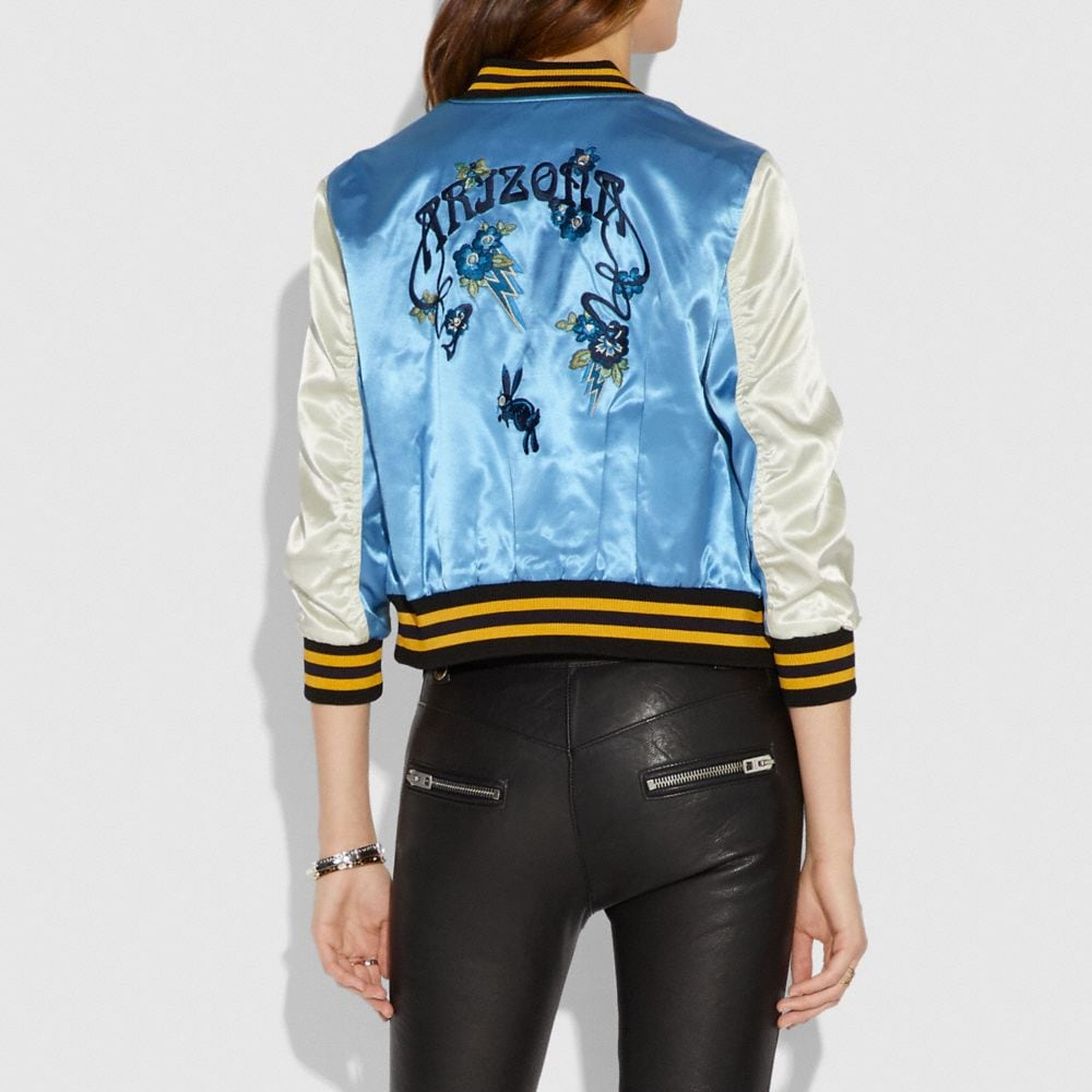 Coach Arizona Varsity Souvenir Jacket Alternate View 2