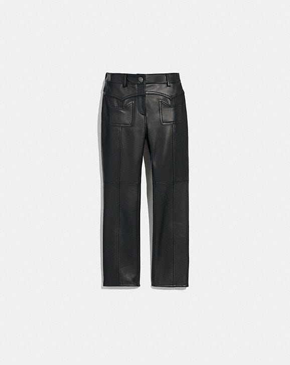 Coach LEATHER PANTS